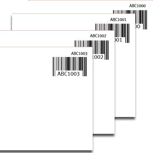 Barkod etiket programı ile irsaliye ve faturaya sayac ekleme