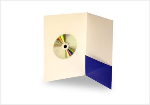 cd pocket folder