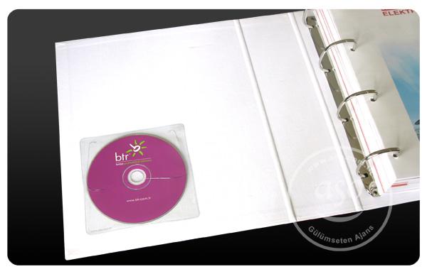 pvc şeffaf kendinden yapışkanlı sticker cd zarfı