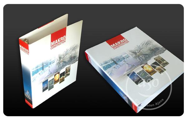 Firma Dosya Klasör tasarımı ve imalatı