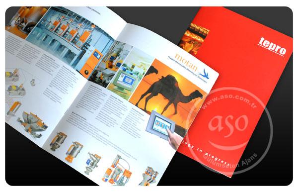 katalog, broşür, grafik tasarım ve baskısı, aso reklam.
