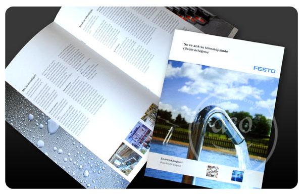 Grafik tasarımı, matbaa baskısı, festo dergi, aso reklam