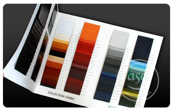 kartelalar tekstil, boya, mobilya gibi sektörlerle kullanılan kataloglardır.