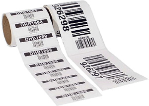 barkod etiket ile numaratörlü barkod basmak