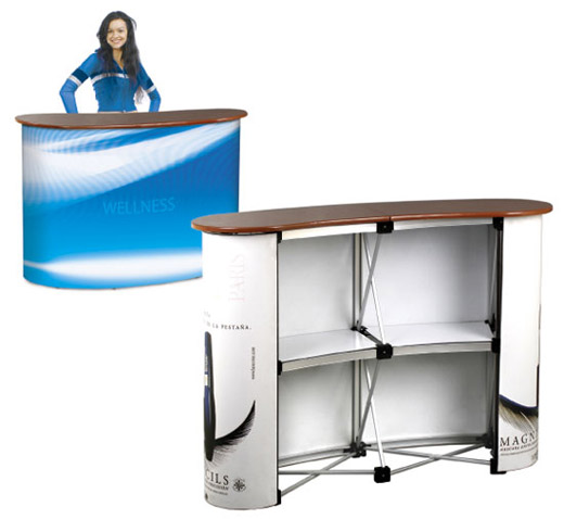 Örümcek masa, fuar teşhir masası,