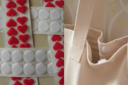cırt cırt, çanta ve promosyon çanta gibi tekstil ürünleri için kullanılır.