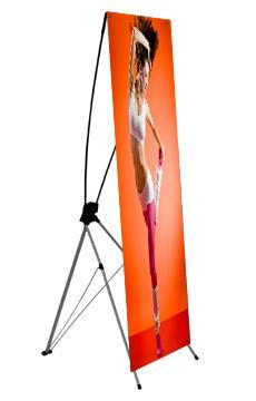 X Banner stand, X banner fuar standı, sergileme standı, x panel